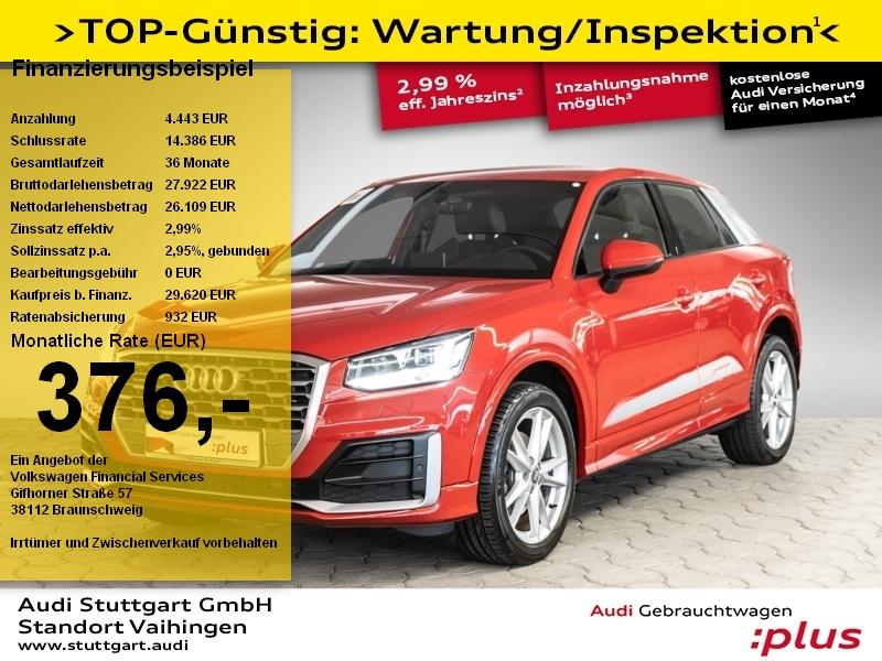 Audi Q2 2.0 TDI quattro S line AHK LED PDCplus DAB, Jahr 2018, Diesel