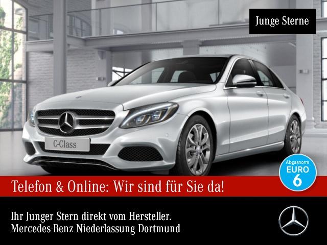 Mercedes-Benz C 180 d Avantgarde ILS LED Navi PTS Sitzh Temp, Jahr 2016, Diesel