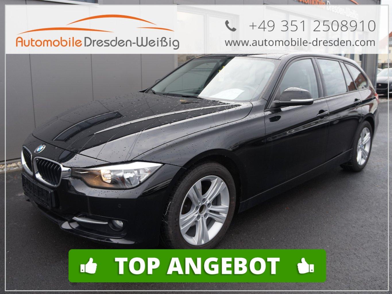 BMW 316d Touring Aut. Sport Line Leder*AHK*PDC*LM, Jahr 2013, diesel