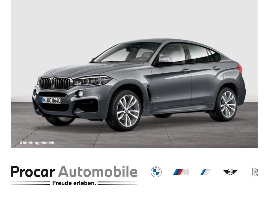 BMW X6 xDrive40d M-Sportpaket +Head-Up +LED +WLAN +Adapt.Fahrw.+Wireless +Komfortsitze +RFK, Jahr 2018, Diesel