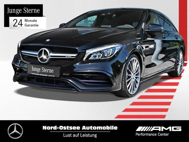 Mercedes-Benz CLA 45 AMG SB 4M Navi Kamera LED PDC Night SHZ, Jahr 2016, Benzin