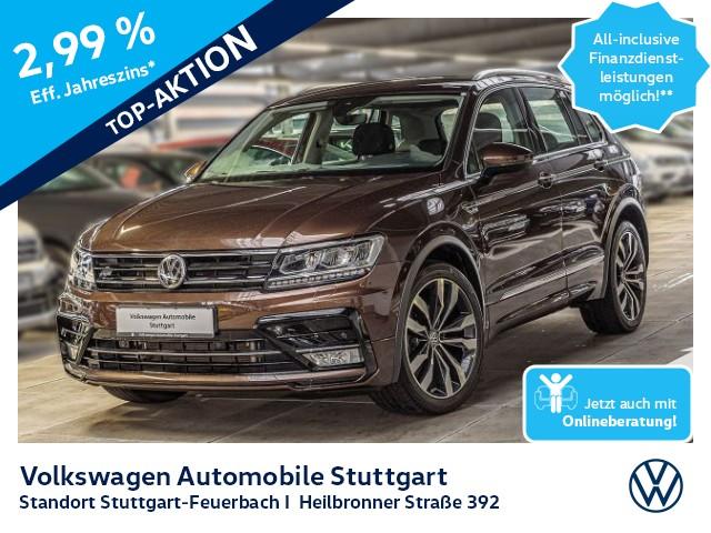 Volkswagen Tiguan 1.4 TSI Highline Allrad Navi AHK Tempomat, Jahr 2017, Benzin