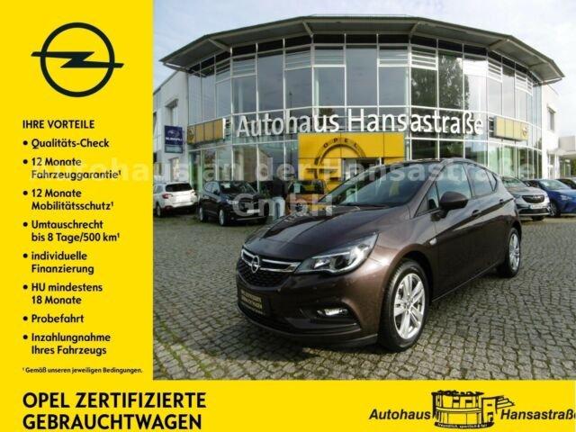 Opel Astra 1.4 Turbo Active 110kW Automatik wenig Km, Jahr 2017, Benzin