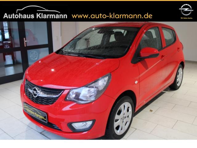 Opel Karl 1.0 Edition/KLIMA/ZV/R/CD/5-SITZER/TEMPOMAT, Jahr 2015, Benzin
