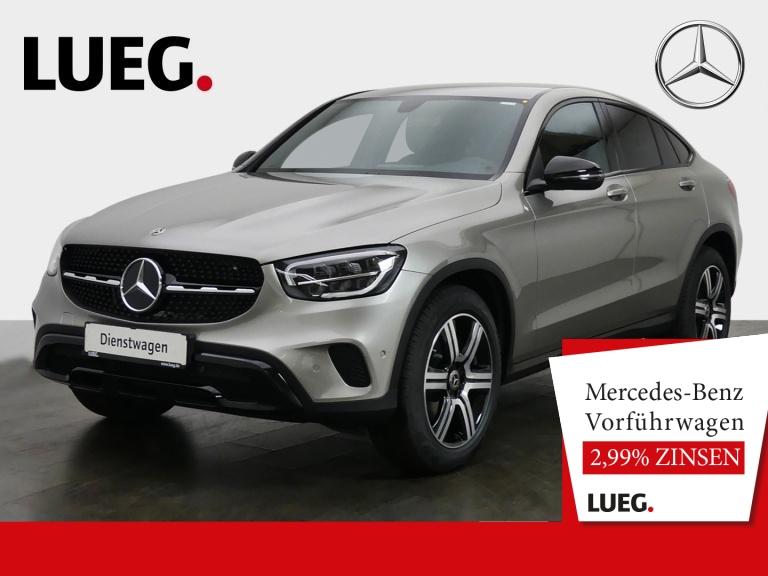 Mercedes-Benz GLC 200 4M Coupé NIGHT+19''+EXCLUSIVE-IN+AHK+KAM, Jahr 2020, Benzin