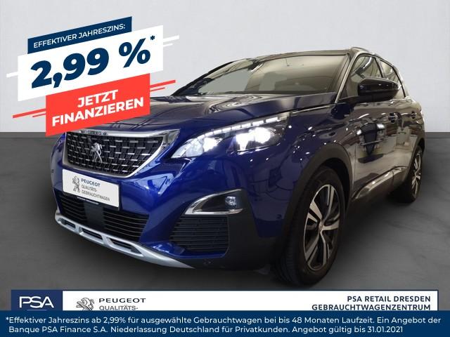 Peugeot 3008 BlueHDi 150 Stop & Start Allure/ navi/ Kamera/ SHZ/ DAB, Jahr 2017, Diesel