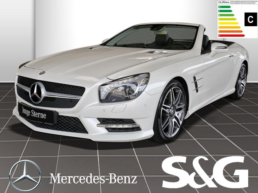 Mercedes-Benz SL 350 Airscarf/AMG-19Zoll/Rückfahrkamera/Comand, Jahr 2014, petrol