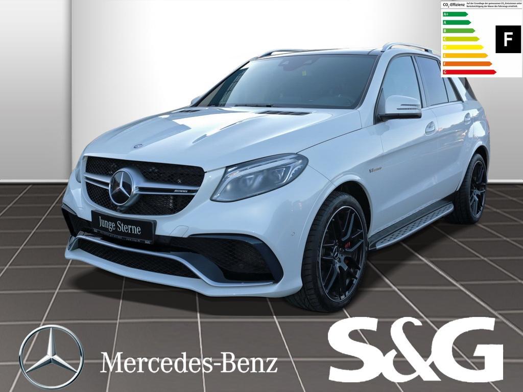 Mercedes-Benz GLE 63 AMG Standheizung/Distronic/LED/AHK, Jahr 2015, Benzin