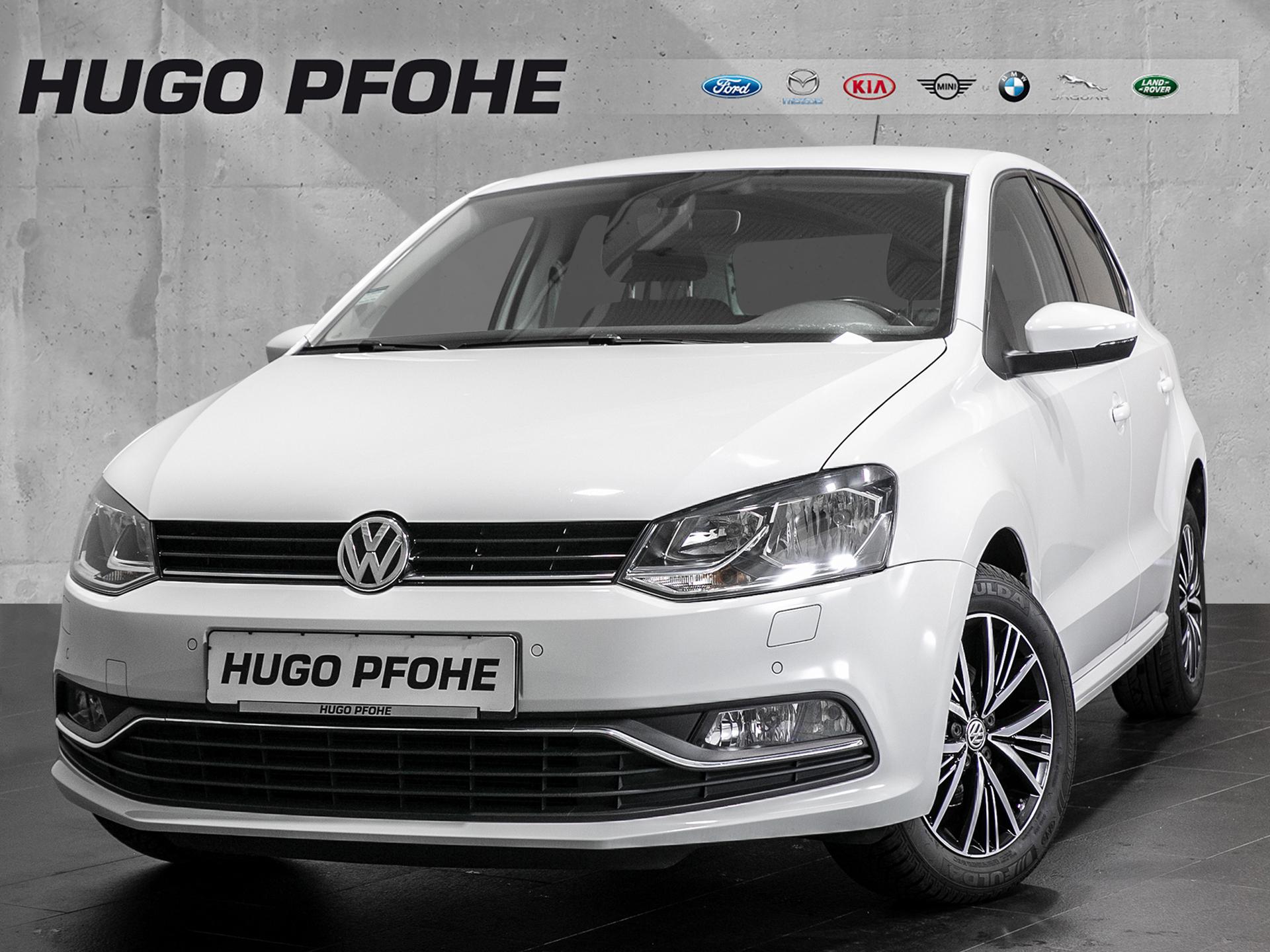 Volkswagen Polo V Allstar Polo 1.0 Blue Motion Technology, Jahr 2016, Benzin