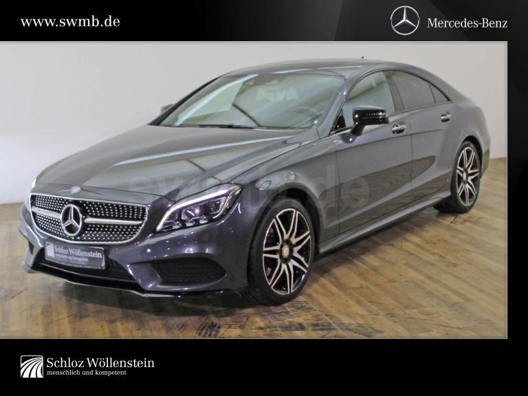 Mercedes-Benz CLS 350 d Coupé AMG/NightP/AIRMATIC/360°/19ZLMR, Jahr 2015, Diesel