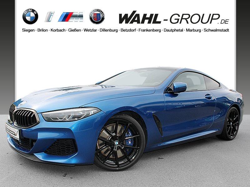 BMW M850i xDrive Coupé Head-Up HK HiFi DAB WLAN RFK, Jahr 2018, petrol