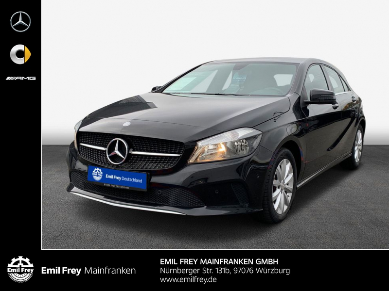 Mercedes-Benz A 180 d Style + Navigation +Park-Pilot + Sitzheizung, Jahr 2016, Diesel