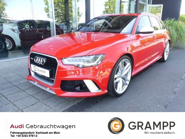Audi RS6 Avant +KERAMIK+DYNAMIK+SPORTABGAS+B&O+RSFAHR, Jahr 2014, Benzin