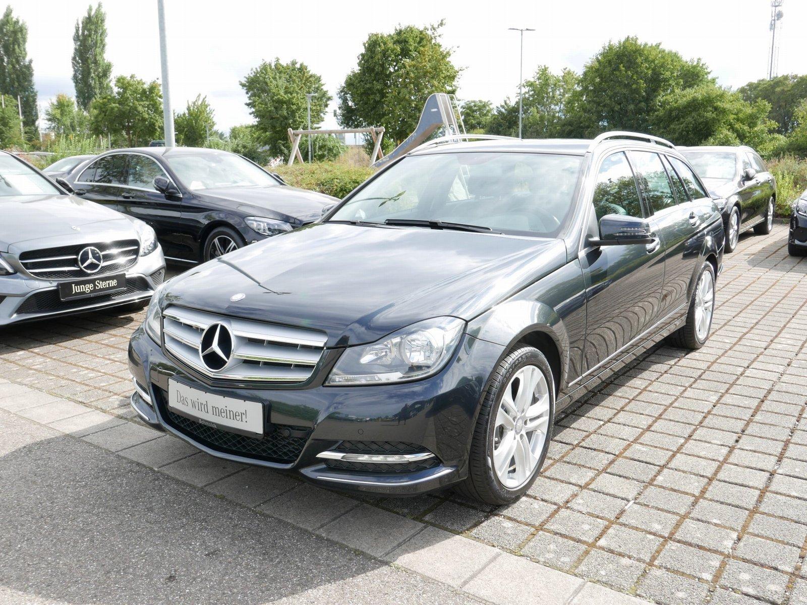 Mercedes-Benz C 180 T AVANTGARDE/NAVI/PTS/SHZ/EASY-P/TEMPOMAT, Jahr 2013, Benzin