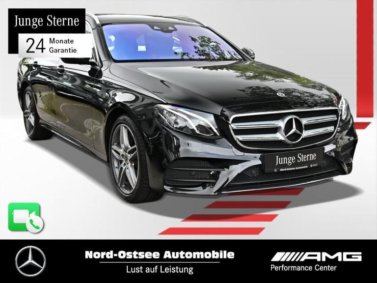Mercedes-Benz E 220 T AMG line Avantgarde Kamera SD LED Sitzhz, Jahr 2017, Diesel