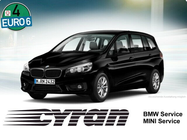 BMW 218d Gran Tourer Advantage Navi Sitzh. Parkass., Jahr 2017, Diesel