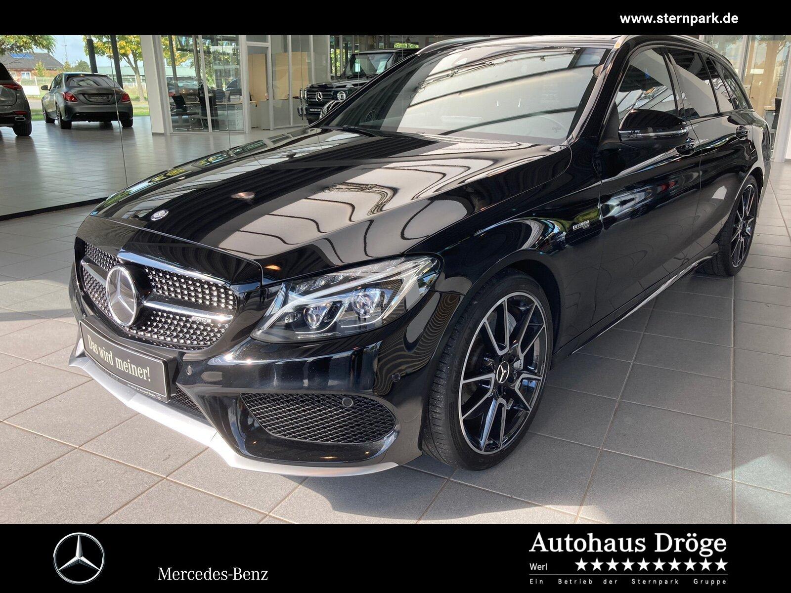 Mercedes-Benz C 43 T 4M AMG HuD*Standh*Pano*AbGas*Burmest*Memo, Jahr 2017, Benzin