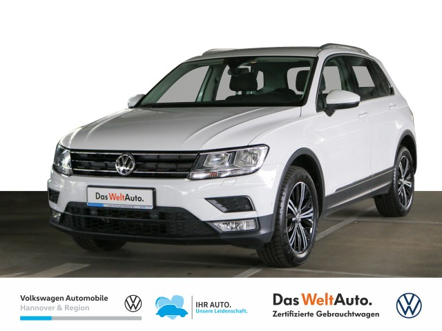 Volkswagen Tiguan 1.4 TSI DSG Sound 4Motion Navi Klima Parklenkassistent, Jahr 2017, Benzin
