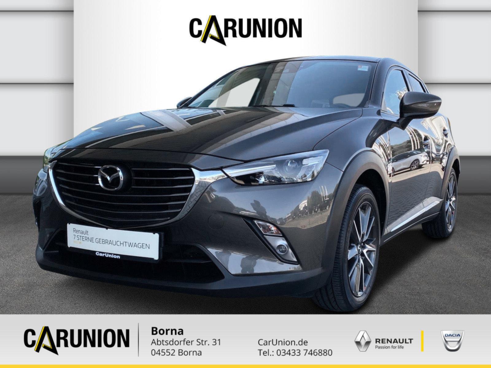 Mazda CX3 Sports-Line, NAvi,, Klmaautomatik uvm., Jahr 2016, Benzin