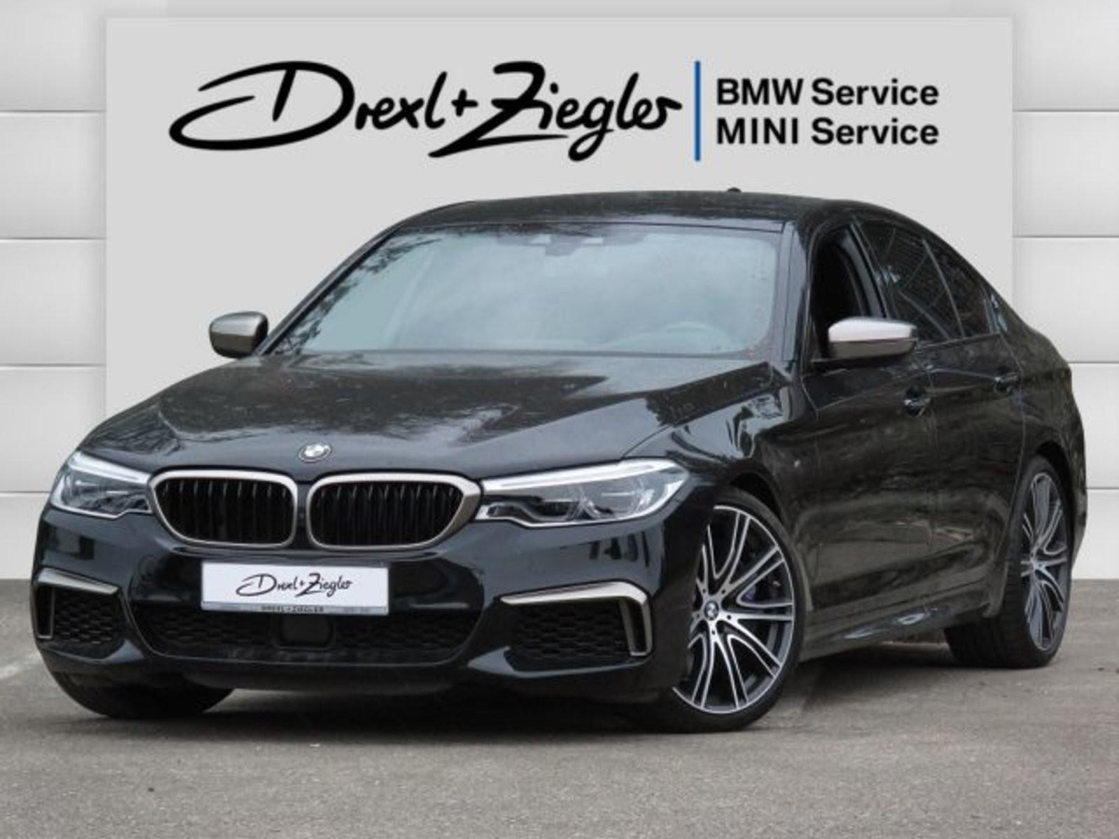BMW M550i xDrive H&K HUD DAB K-Sitz Alu20 DrAstPlus, Jahr 2017, Benzin