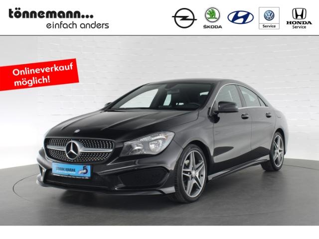 Mercedes-Benz CLA 180 AMG LINE+MÜDIGKEITSERKENNUNG+AMG ALUFELGEN+START/-STOPSYSTEM, Jahr 2014, Benzin