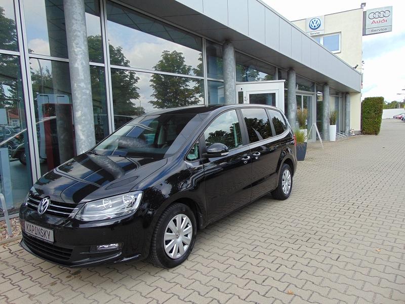 Volkswagen Sharan Trendline Standhzg. PDC v+h Kindersitz, Jahr 2014, Diesel