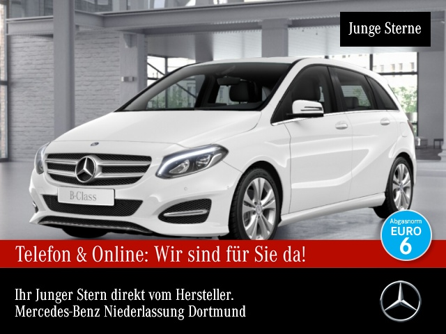 Mercedes-Benz B 200 Urban LED Kamera Laderaump Klimaautom 7G-DCT, Jahr 2016, Benzin