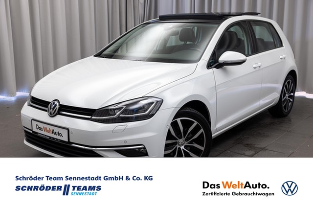 Volkswagen Golf VII 1.4 TSI DSG Highline Navi,ACC,Leder,Pano,, Jahr 2017, Benzin