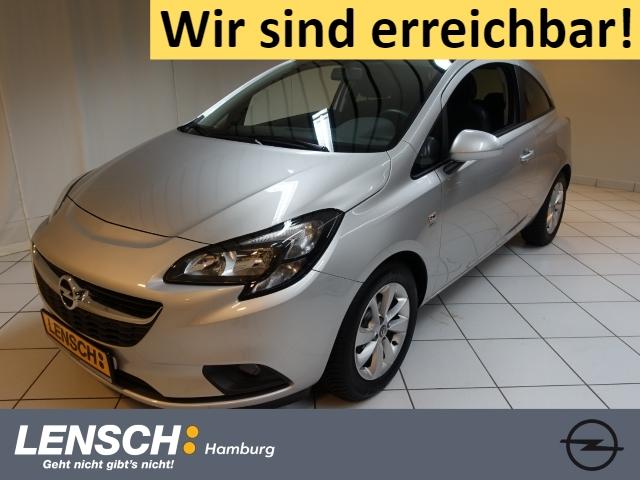 Opel Corsa E 1.4 drive AUTOM+PARKPILOT+SITZHZG+BT+USB, Jahr 2016, Benzin