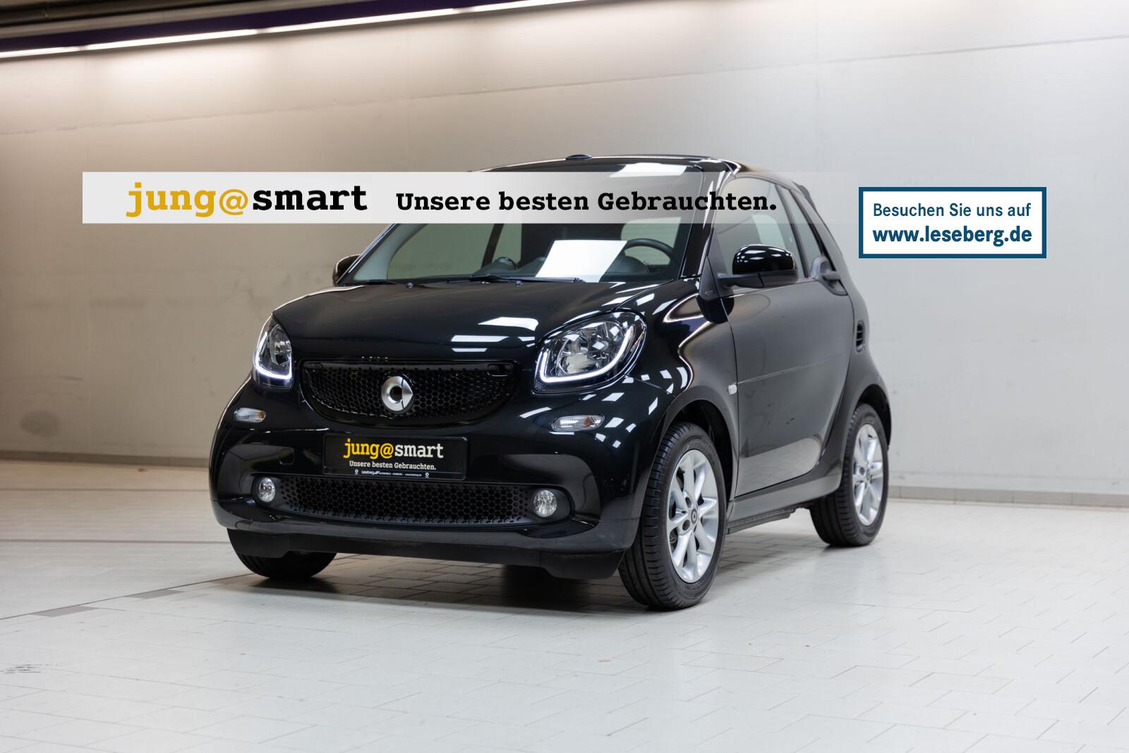 smart fortwo passion cabrio 5-Gang/Windschott/Sitzhzg., Jahr 2016, Benzin