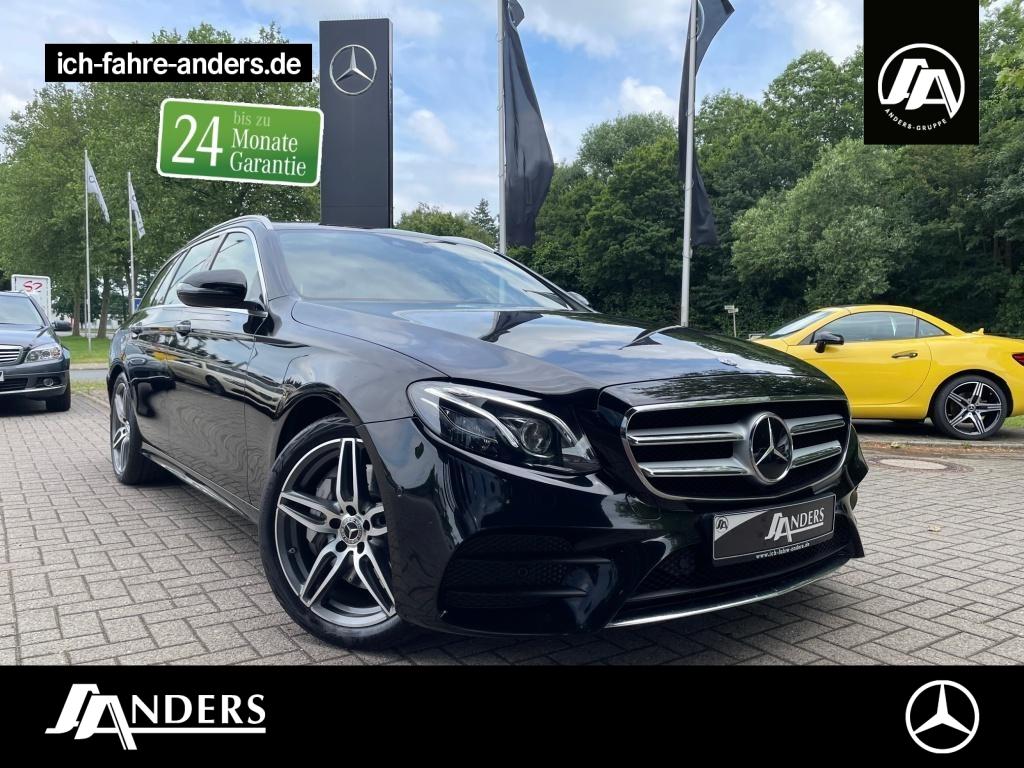 Mercedes-Benz E 400 4M T AMG+Comand+Wide+Kam+LED+AHK+Distr+SHZ, Jahr 2017, Benzin