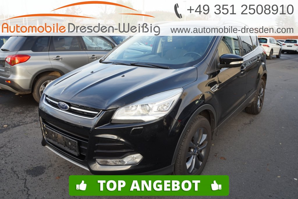 Ford Kuga 2.0 TDCi 4x4 Titanium*Navi*Bi Xenon*DAB+, Jahr 2014, Diesel