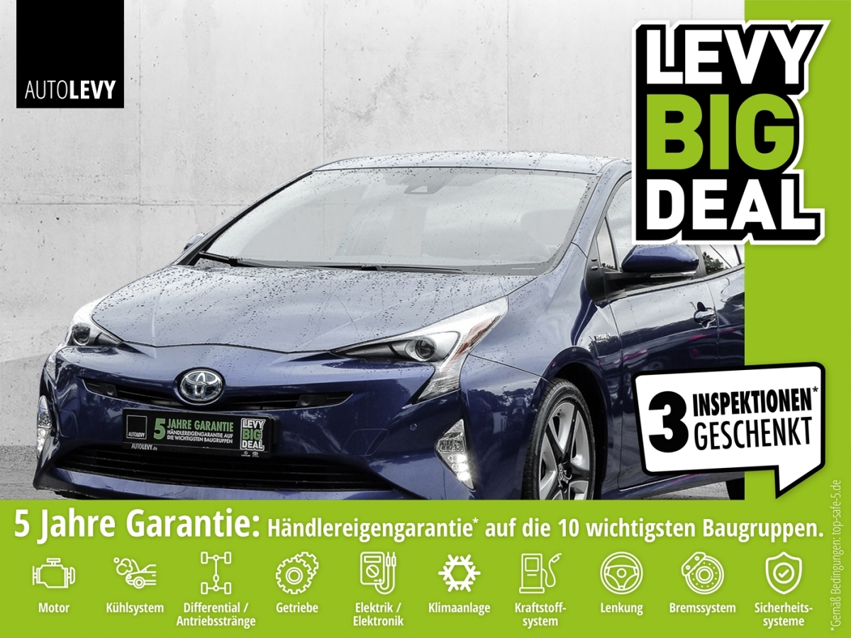 Toyota Prius Executive *NAVI*LEDER*JBL*SHZ*8-FACH*, Jahr 2016, Hybrid