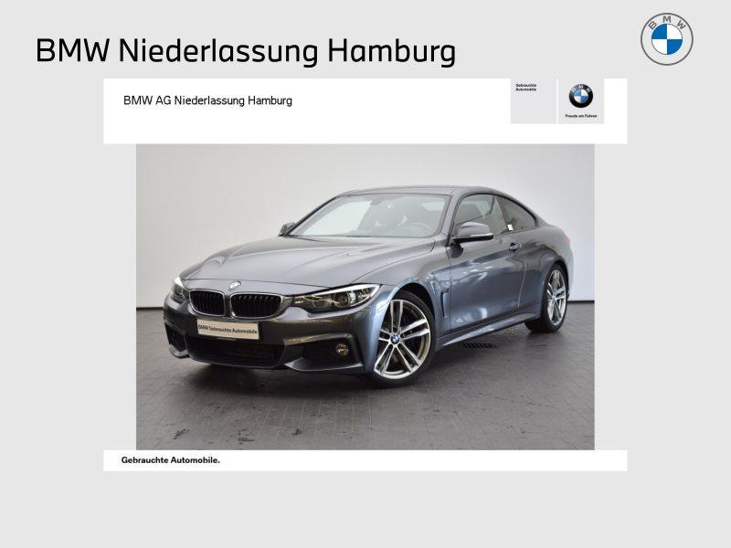 BMW 430d Coupé Sportpaket M Sportbr. Head-Up HiFi, Jahr 2017, Diesel