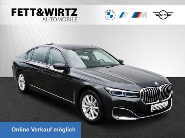 BMW 745Le xDrive Laser HUD Panorama Fond-Ent Sitzbel, Jahr 2019, Hybrid