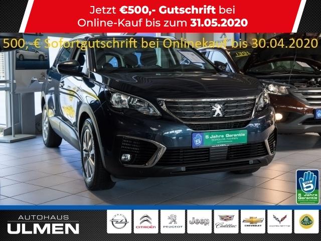 Peugeot 5008 Active HDi 130 EU6d-TEMP 7-Sitzer Navigation Klimaauto.Sitzheizung Alu Einparkhilfe, Jahr 2018, Diesel