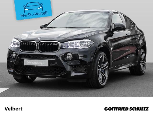 BMW X6 M SCHIEBE+LED+ALCANTARA+HUD+LUFT+AHK, Jahr 2018, Benzin