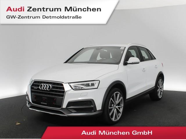 "Audi Q3 2.0 TFSI qu. Design 20"" LED Navi R-Kamera Side/LaneAssist 20"" S tronic, Jahr 2018, petrol"