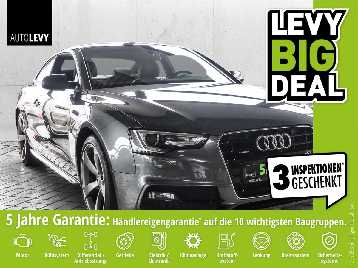 Audi A5 2.0 TFSI S-LINE Quattro *19 ALU*WKR*Navi*PDC*, Jahr 2014, Benzin