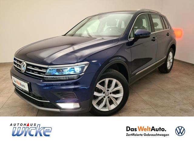 Volkswagen Tiguan 2.0 TDI DSG 4Motion Highline Klima, Jahr 2017, Diesel