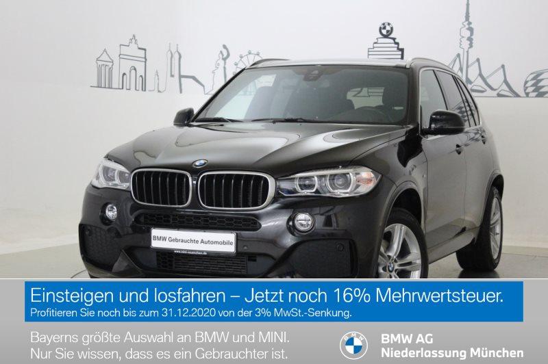 BMW X5 xDrive30d Sportpaket Head-Up HiFi DAB Xenon EURO 6, Jahr 2017, Diesel