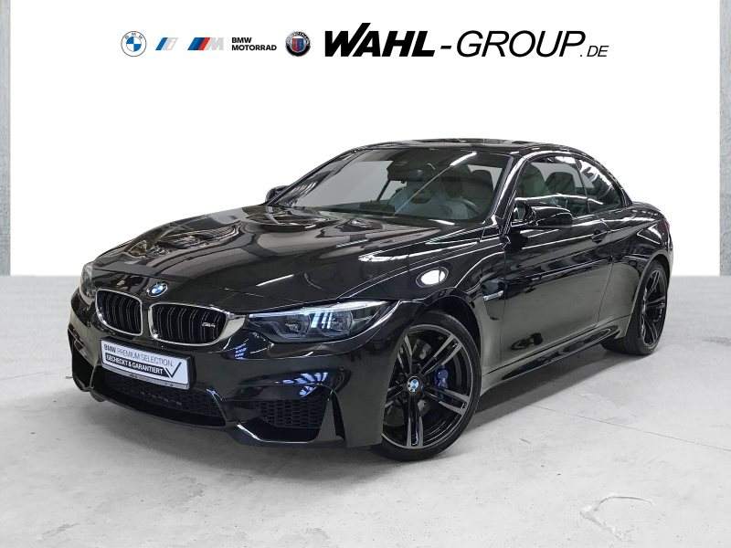 BMW M4 Cabrio DKG M Drivers P. Head-Up HK HiFi LED, Jahr 2017, Benzin