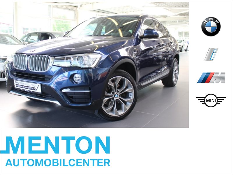 BMW X4 xDrive20d xLine Head-Up RFK Shz Komfortzugang, Jahr 2017, Diesel
