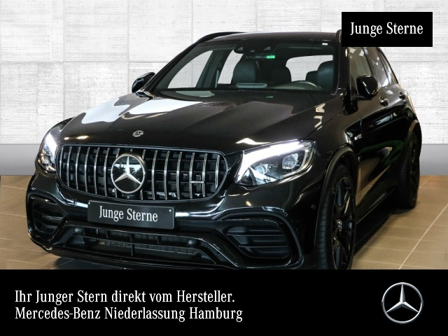 Mercedes-Benz GLC 63 S 4MATIC Sportpaket Bluetooth Navi LED, Jahr 2018, Benzin