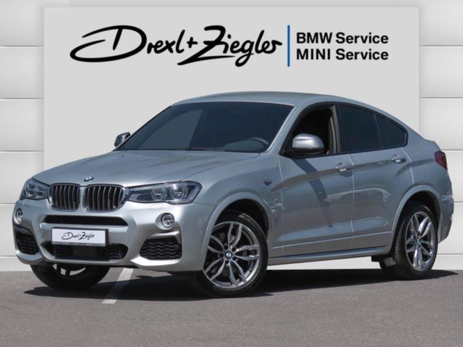 BMW X4 M40i Leder HUD AHK LED DAB HiFi Kamera Komfzg, Jahr 2017, Benzin