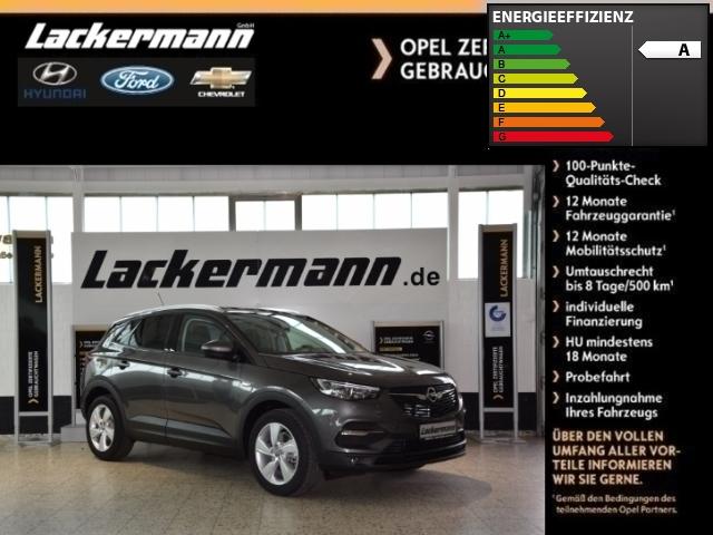 Opel Grandland X Edition Klimaautom. LED-Tagfahrlicht Beheizb. Frontsch. Multif.Lenkrad RDC, Jahr 2017, diesel