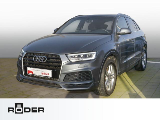 Audi Q3 S line selection 2.0 TDI quattro S tronic Navi LED Pano BOSE, Jahr 2017, Diesel