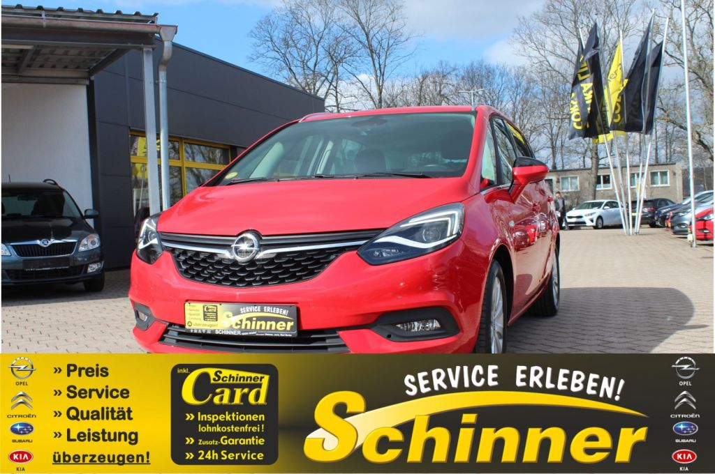 Opel Zafira 1.6 D (CDTi ecoFLEX) Start/Stop Innovation, Jahr 2017, Diesel