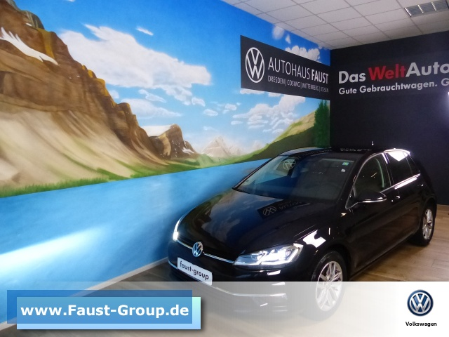 Volkswagen Golf VII Comfortline UPE 33000 EUR LED ErgoActive, Jahr 2017, Diesel