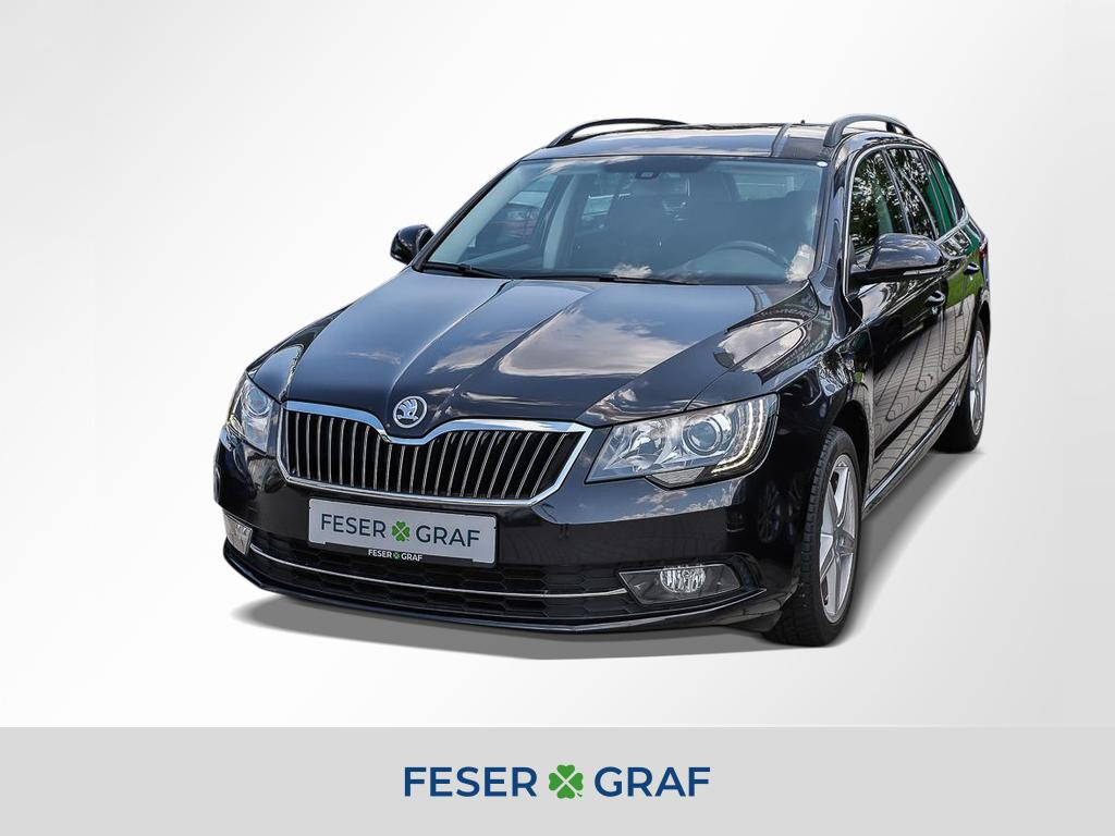 Skoda Superb Combi 2.0 TDI DSG Bi-Xenon Navi SZH AHK, Jahr 2014, Diesel